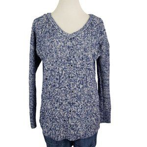 American Eagle Outfitters Marled Knitted Sweater S